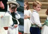 Like Father, Like Son: See Prince William and Prince George as Pageboys, Side by Side