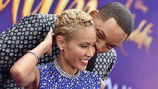 Jada Pinkett Smith Is A Better Genie Than Will Smith On 'Aladdin' Red Carpet