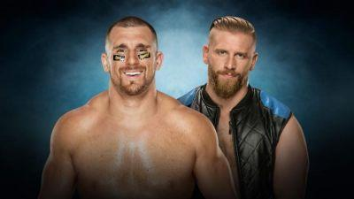 Elimination Chamber 2017 Results: Mojo Rawley Defeats Curt Hawkins In Tribute To Rob Gronkowski