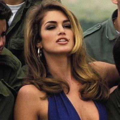This Week's Makeup Inspiration: Cindy Crawford '90s Supermodel Makeup