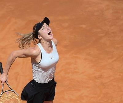 Svitolina lays down French Open marker in Rome