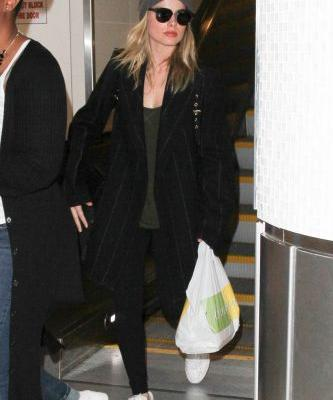 The Tried-and-True Winter Travel Outfits Celebrities Love
