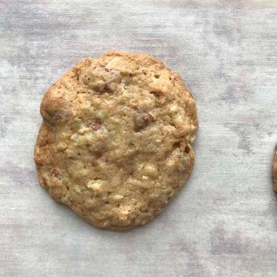Gluten Free Coconut Pecan and Toffee Cookies