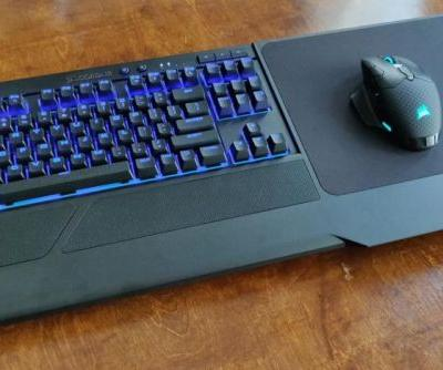 Corsair K63 Gaming Lapboard review: Second time's the charm for couch gamers