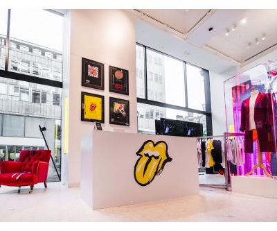 Selfridges Celebrate The Rolling Stones At The Corner Shop