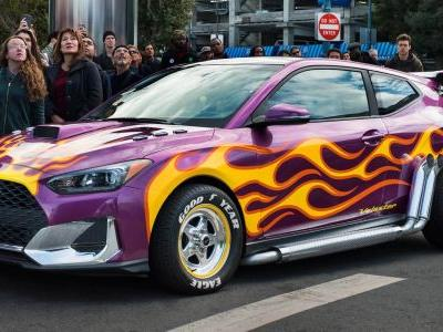 This 2019 Hyundai Veloster Hot Rod Will Star In Marvel's 'Ant-Man And The Wasp'