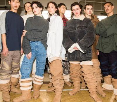 Y/Project just put thigh-high Uggs on the runway