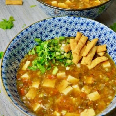 SPICY MANCHOW SOUP