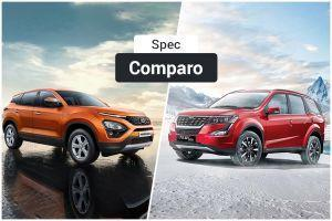 Mahindra XUV500 W3 Vs Tata Harrier XE Spec Comparo