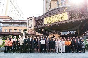 Conrad Macao Named 5-Star Hotel by Forbes Travel Guide in Official 2018 Star Ratings Announcement