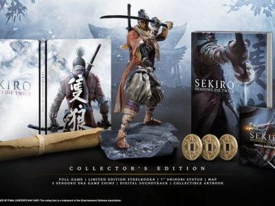 Sekiro: Shadows Die Twice Collector's Edition Revealed Ahead Of Gamescom 2018