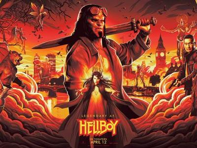 NYCC: New Hellboy Banner Offers First Look at Comic Characters