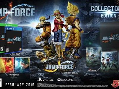 Jump Force Collector's Edition goes up for preorder