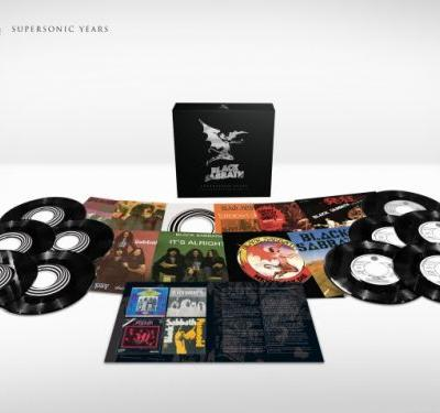 BLACK SABBATH: Official Unboxing Video For 'Supersonic Years - The Seventies Singles Box Set'