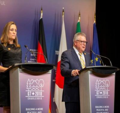 'A disruptive force': G7 ministers speak about the 'dark' internet in the wake of a daylight van attack in Toronto