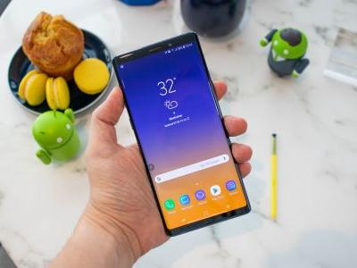 Samsung Galaxy Note 9 features a record-breaking display