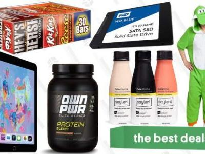 Wednesday's Best Deals: Halloween Costumes, Full Size Chocolate, Affordable iPads, and More