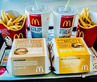 Why a Nutritionist Believes You Should Order Two Burgers at McDonald's Instead Of One