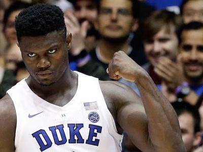 Duke superstar Zion Williamson is back, and it looks like he will be wearing different shoes