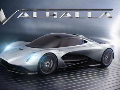 Aston Martin RB-003 Confirmed To Get Valhalla Name