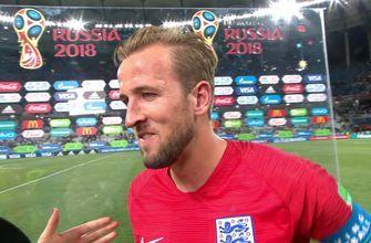 Harry Kane interview after netting two goals against Tunisia | 2018 FIFA World Cup™