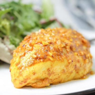 Curry Spiced Chicken Breasts