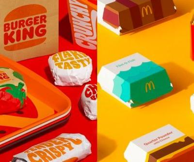 Survey Reveals Burger King Packaging Update Favored Over Mcdonald's