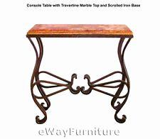 49 Inspirational Wrought Iron Console Table Images