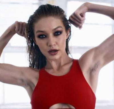 Fans are divided over Gigi Hadid's 'natural armpit hair'