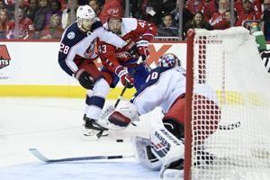 Panarin scores in OT, Blue Jackets beat Capitals 2-1