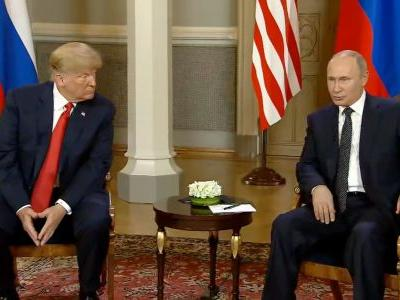 President Trump says he accepts US intelligence agencies conclusion Russia meddled in 2016 election