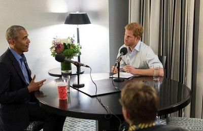 Obama uses Prince Harry interview to lament 'work still undone' after Clinton election defeat