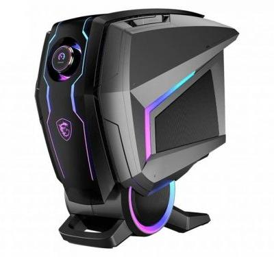The new MSI MEG Aegis Ti5 has a gaming dial on the front, RTX 3080 inside