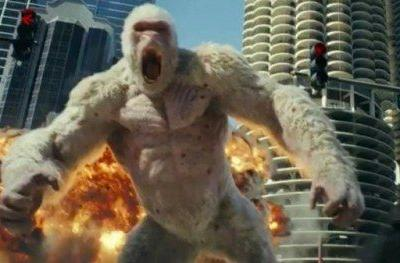 Rampage Trailer Has The Rock Fighting Giant Mutant
