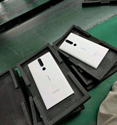 Image of a new Nokia Android One smartphone leaks in China with Lumia-esque Phabula design