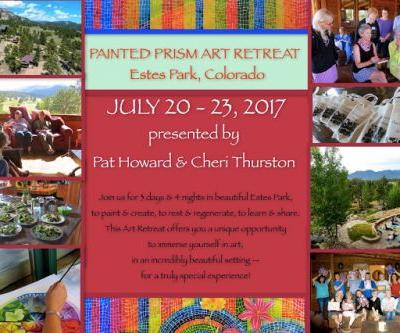 Upcoming PAINTED PRISM ART RETREAT in Estes Park, Colorado