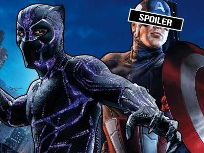 Black Panther Teases Marvel's Next Captain America?