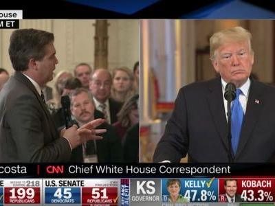 Reporters Defend Acosta, Slam WH After Credentials Suspended: 'Deeply Concerning'