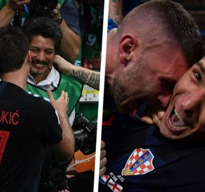 'Perisic found my glasses!' - Photographer recounts getting caught in Croatia celebrations