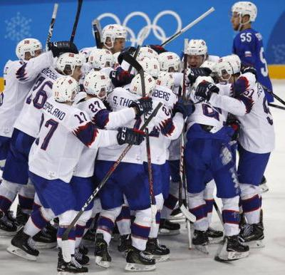 Norway tops Slovenia, 1st Olympic men's hockey win since '94