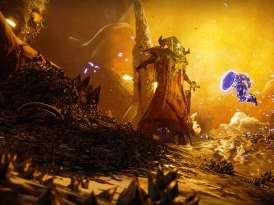 Destiny 2's new Mars expansion Warmind looks all right