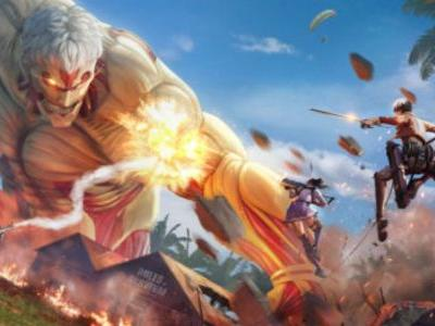 The Rules of Survival Attack on Titan event is here