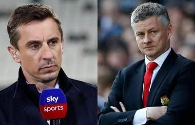 'This performance was rancid': Gary Neville explodes after Manchester United thrashed 4-0 at Everton