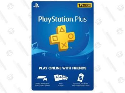 Oh Hey, Here's a Prime Day Deal On PlayStation Plus