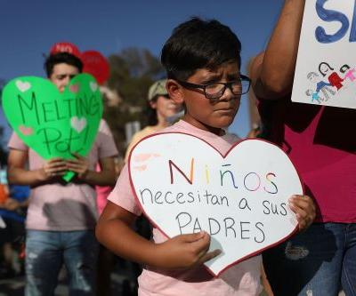 About 500 kids reunited with families since being separated at border: official