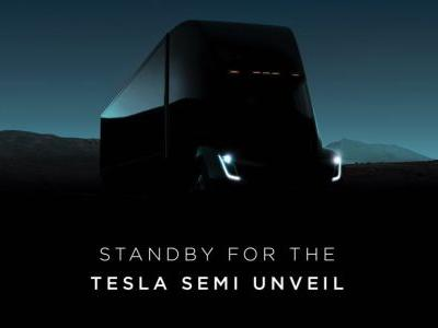 This Is The All-Electric Tesla Semi