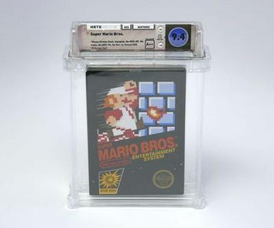 Sealed Copy of Super Mario Bros. Video Game Sets World-Record Price of $100,150