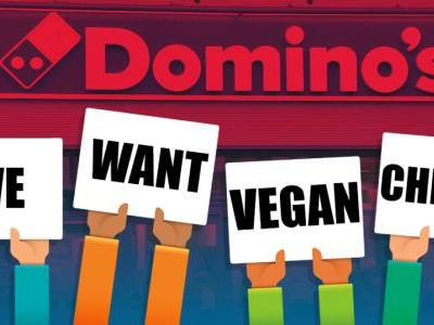 Domino's keeps running of vegan pizzas because we're all living our best vegan lives now