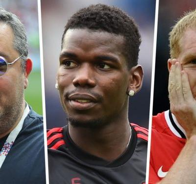 'Scholes should be Man Utd director of football & sell Pogba!' - Raiola hammers ex-midfielder