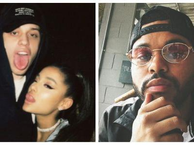Uh, Did The Weeknd Just Throw Shade at Ariana Grande and Pete Davidson? Sure Looks Like It